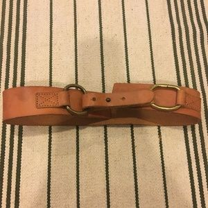 Vintage Collection Accessories - Vintage Collection brown leather belt